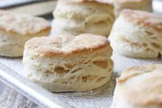 Flaky Buttermilk Biscuits - Treat Your Family & Friends:  all-purpose flour, baking soda, baking powder, butter, salt, all-purpose flour, granulated sugar, baking powder, baking soda, salt, butter, buttermilk