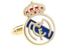 "Real Madrid Club de Fútbol soccer Cufflinks Cuff Links DGW Cufflinks. $49.95. Real Madrid Club de Fútbol soccer Cufflinks Cuff Links. Rhodium plated base metal. Approximately 3/4"" x 1/2"". Comes Packaged in a Deluxe Cufflinks Box. Free Gift Wrapping with each order!"