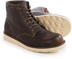 Eastland Barron Plain Toe Boots  Suede For Men