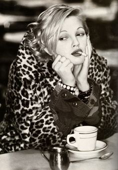 Drew Barrymore, my favorite actress! // Mine too!