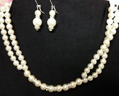 June Wedding challenge---simple elegance. The traditional Victorian bride or any of the themes could wear this lovely earrings and necklace combo.  (This one sold already, but there are other pearls in our store. https://www.etsy.com/shop/PleinDesign?ref=hdr_shop_menu )