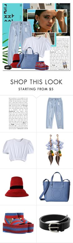 """""""West Coast"""" by undici ❤ liked on Polyvore featuring Dsquared2, Salvatore Ferragamo, STELLA McCARTNEY and MANGO"""