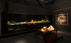 Das beeindruckende Ägypten-Diorama wurde von dem belgischen #PLAYMOBIL-Sammler Bruno Peeters inszeniert. Der Höhepunkt auf der Reise ins Land der Pyramiden: Caesar trifft Kleopatra! (c) Historisches Museum der Pfalz Speyer / Nicht zur kommerziellen Nutzung freigegeben.