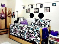 A VERY Stylish College Dorm Room