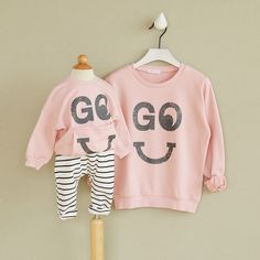 Brand New mom and child sweatshirts Family look mother daughter son hoodies autumn long sleeve family clothes outerwear