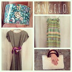 "Tuesday Woman ""Green-Day"" Outfit..by A.N.G.E.L.O. vintage Marostica"