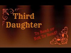 REVIEW: Third Daughter by Susan Kaye Quinn - YouTube Three Daughters, Fantasy Romance, First Daughter, Third, Bollywood, Steampunk, About Me Blog, Neon Signs, Reading