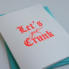 Letterpress Congratulations card Birthday Card by SteelPetalPress