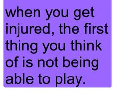 When I play basketball.