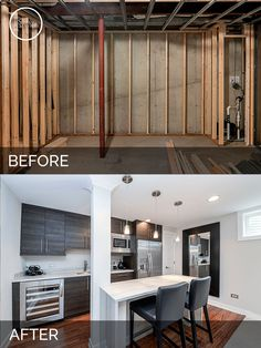 Basement Remodeling Ideas Before And After steve & elaine's basement before & after pictures | basements