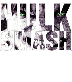 Vandal - Hulk Smash by demoose21  #brazil #brasil #hulk #loki #theavengers #quote #design