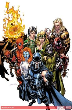 Magneto #11 by David Yardin *