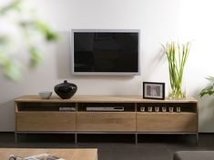 Shop the Ethnicraft NV Oak Ligna TV Cabinet at Lekker Home drawer x x 1600 Furniture Design, Living Room Tv, Entertainment Wall Units, Furniture, Home Furniture, Solid Oak Tv Unit, Solid Wood Furniture, Home Decor, Living Room Furniture