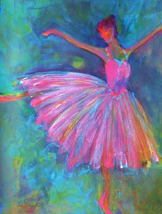 pictures of acrylic paintings of ballet dancers - Google Search