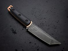 Custom Tanto Fixed Blade Knife 228