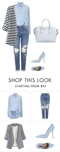 """""""Untitled #182"""" by doda-laban on Polyvore featuring Victoria, Victoria Beckham, Topshop, WithChic, Norma J.Baker and Givenchy"""