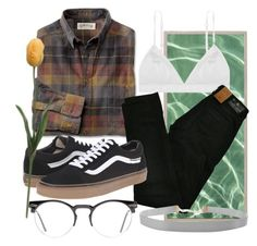 """""""while my guitar gently weeps"""" by qimmig on Polyvore featuring Maison Scotch, Vans, Spitfire and Humble Chic"""