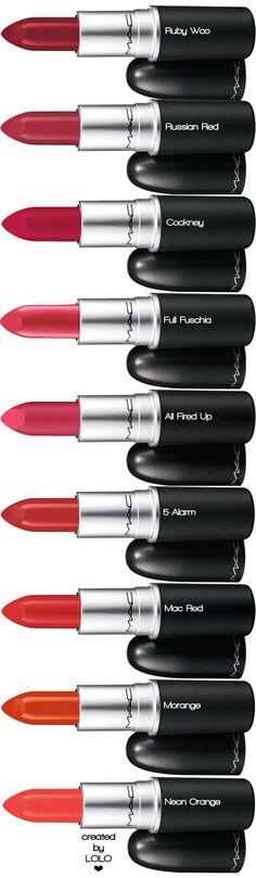 M·A·C Assorted Lipstick | LOLO❤︎