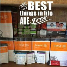 You can create a free customer account and get Thrive for free when you refer 2 friends! Become a promoter for free, as well!
