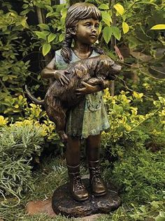 Set an enchanting scene in your garden with the Graceful Hands Sculpture that boasts an impressive and beautiful bronze finish.