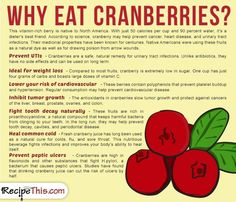 Cooking Tips Podcasts   Why Eat Cranberries from RecipeThis.com