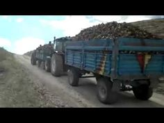Tractor Driving in Load