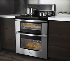 Whirlpool Double Oven Electric Range | Whirlpool Brand Announces The First Induction Double Oven Freestanding ...