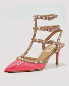 High Fashion High Heel Rock Studs Women Sandals... Valentino❤️