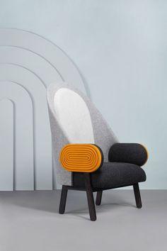 So Stunning! Charles Kalpakian Moon Armchair, 2014 Galerie BSL