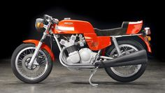 This 1977 MV Agusta 750S America is one of approximately 540 Americas made. It has only 41 miles on the odometer and has been preserved in museum quality storage. It is expected to sell for US$120,000 to $140,000