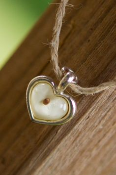 Mustard seed heart charm necklace-$17.20. This is my cousin's Etsy page :)