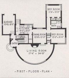 More Art Deco and Moderne House Plans Including the House of Tomorrow! | Art Deco Resource