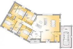 Plan Achat Maison Neuve à Construire   Maisons France Confort Performa 112