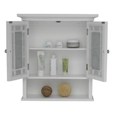 Jezzebel Wall Cabinet - Overstock™ Shopping - Great Deals on Bathroom Cabinets
