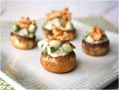 ... Stuffed Mushrooms, Stuffed Mushroom Recipes and Bacon Stuffed