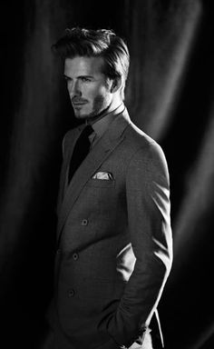 (via David Beckham Is Back :: Articles :: Los... - Smile! love British style? Follow http://everythingforguys.co.uk