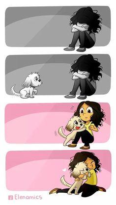 ❤ cuantas veces lo hicieron mis hermosos  perritos Candy + y Remo :'(