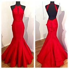 Backless Prom Dress,Mermaid Prom Dress,Fashion Prom Dress,Sexy Party