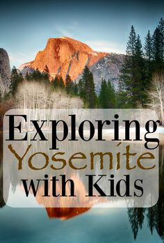 Exploring Yosemite With Kids may just be the best vacation you take with your family yet. See the majestic beauty of this national park. Vacation Humor, Vacation Trips, Vacation Ideas, Us National Parks, Yosemite National Park, Best Family Vacations, Family Travel, Family Trips, Beach Trip