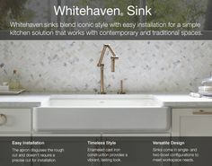 7 best cast iron kitchen sinks images cottage rustic kitchens rh pinterest com