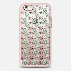 Morning Chorus - Transparent - New Standard Case @casetify #Casetify #iphone6 #iphonecase #phonecover #birds #cute #tweet #clearcase #transparent #nature #wildlife