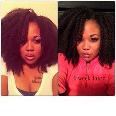 crochet braids with marley hair. Sooo my next hair style...