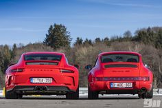 964 RS v Touring: Blood Brothers - Total 911 Porsche 991, Porsche Cars, Driving Courses, Teen Driver, First Time Driver, Blood Brothers, Best Car Insurance, Vintage Porsche, S Car