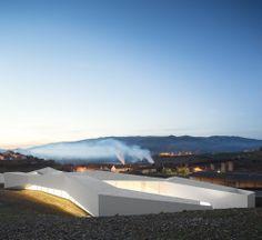Álvaro Andrade | Centro de Alto Rendimento de Remo do Pocinho (Foz Côa), Portugal | CENTER FOR HIGH YIELD - ROWING | POCINHO (FOZ CÔA), PORTUGAL | © Fernando Guerra, FG+SG Architectural Photography