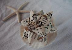 Funk Butter by Oyin Handmade May 2013 Handmade music sheet bows! {oc cottage}: A Yultide Tute. Oyin Handmade, Handmade Home, Handmade Jewelry, Handmade Sheet, Handmade Headbands, Handmade Pottery, Handmade Rugs, Handmade Silver, Handmade Crafts