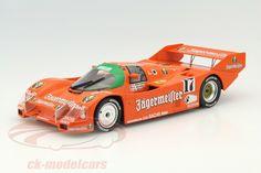 Porsche 962 C, Winner 1000km Spa 1986, No.17, Thierry Boutsen / Frank Jelinski, Jagermeister Brun Motorsport Team. Norev, 1/18, Limited Edition 1000 pcs. Price (2016): 60 EUR.