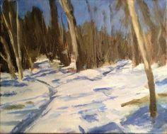 10 Steps for Painting Snow Scenes