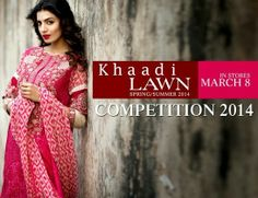 Khaadi Lawn Collection Women Spring  Summer 2014 (1)