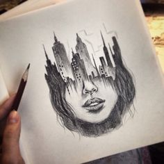 Drawing LessonsTattoo Sketches - New Pin Sad Drawings, Girl Drawing Sketches, Dark Art Drawings, Girly Drawings, Art Drawings Sketches Simple, Pencil Art Drawings, Beautiful Drawings, Gambit Wallpaper, Deep Art
