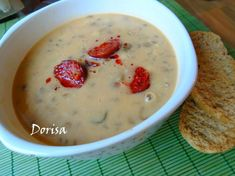 Cheeseburger Chowder, Oatmeal, Soup, Cooking, Breakfast, The Oatmeal, Kitchen, Morning Coffee, Rolled Oats
